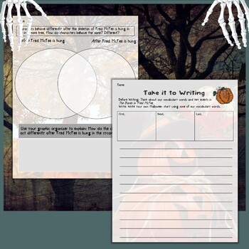 The Bones of Fred McFee by Eve Bunting Interactive Read Aloud Lesson Plan
