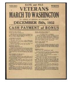 The Bonus Army Handout