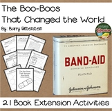 The Boo-Boos That Changed the World  21 NO PREP Extension Activities