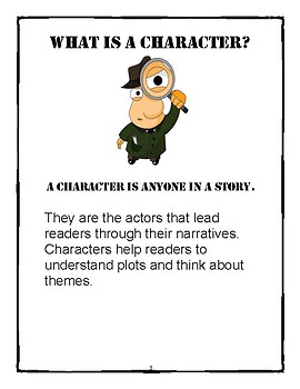 The Book Character Detective