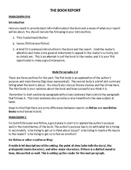 High School Experience Essay The Book Report Essay Essay For Science also Healthy Food Essays The Book Report Essay By Adam Simovic  Teachers Pay Teachers Essay Paper Writing Services