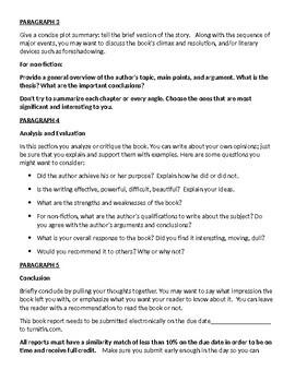 The Book Report Essay