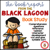 The Book Report From the Black Lagoon Book Study Packet