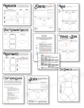The Book Thief - 10 Mini-Lessons & Student Handouts