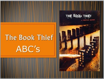 The Book Thief - ABCs of the Novel
