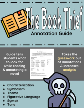 The Book Thief Annotation Guide