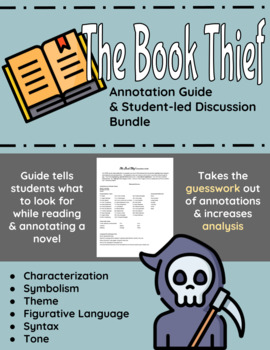 The Book Thief Annotation Guide and Bundle