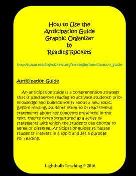 The Book Thief Anticipation Guide and KWHL Chart
