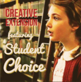 The Book Thief Creative Inquiry Project with Choice Board