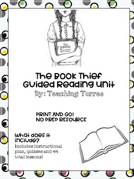 The Book Thief Guided Reading Unit