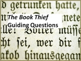 The Book Thief: Guiding Questions