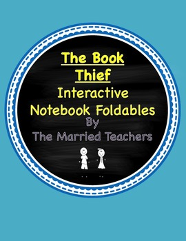 The Book Thief  Interactive Literature and Grammar Notebook Foldables