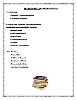 The Book Thief Literary Analyses: