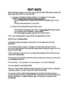 The Book Thief: Meet Death