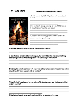 The Book Thief Movie Guide