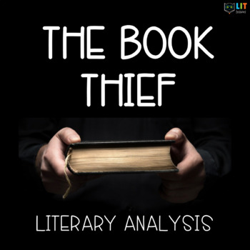the book thief unit teaching resources teachers pay teachers  the book thief by markus zusak literary analysis novel study 34 assignments