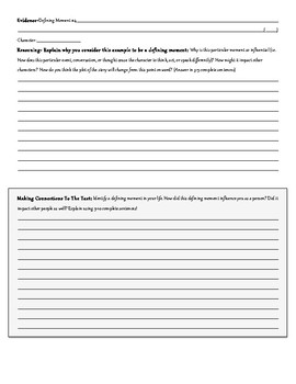 The Book Thief Part 7 Reading Focus Worksheet