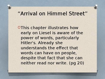 The Book Thief - Power of Words