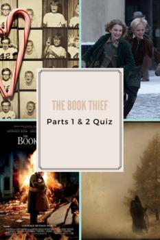 The Book Thief Quiz Parts 1 & 2