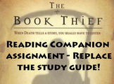 The Book Thief Reading Assignment