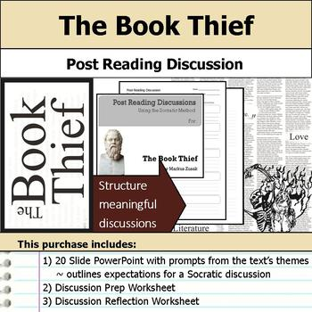 The Book Thief - Socratic Method - Post Reading Discussions