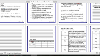 The Book Thief Speech Directed Writing Pack