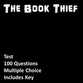 The Book Thief Test (Editable)
