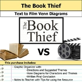 The Book Thief - Text to Film Venn Diagram & Written Conclusion