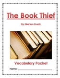 The Book Thief: Vocabulary Packet