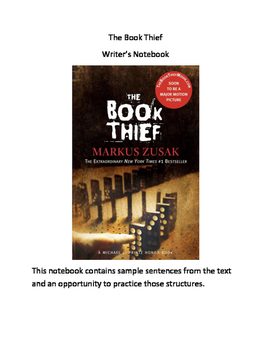 The Book Thief Writer's Notebook