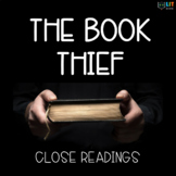 The Book Thief: Fiction Close Readings, Graphic Organizers - 34 Assignments