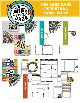 The Book of Aim Zing: Perpetual Planner and Goal Book