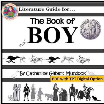 The Book of BOY by Catherine Gilbert Murdock: A Literature Guide by Jean Martin