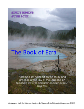 The Book of Ezra Study Guide