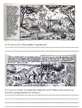The Book of Genesis and the Creation of the World - A Visual Journey