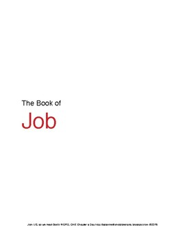 The Book of Job WORD Guide
