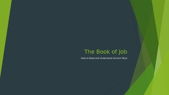 The Book of Job and Theodicy