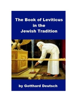 The Book of Leviticus in the Jewish Tradition