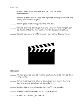 The Book of Life Movie Guide