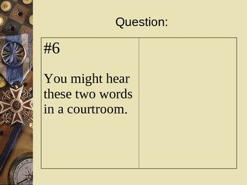 The Book of Questions ... With Answers on the Tip of Your Tongue FREE PowerPoint