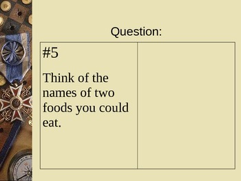 The Book of Questions...With Answers on the Tip of Your Tongue PowerPoint Vol. 3