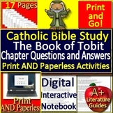 The Book of Tobit Teaching Unit Catholic School Lesson Cartholic Bible Study