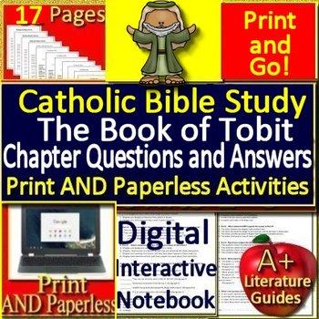Teacher Bible Study - The Book of Tobit Complete Unit - Catholic School  Teachers