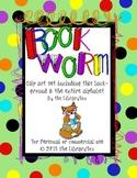 The Bookworm Alphabet Clip Art Letters