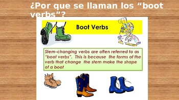The Boots of a Hero  (Stem Changing Verbs)
