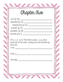 The Borrowers Literature Guide