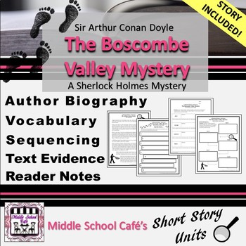 Mystery Short Stories Worksheets & Teaching Resources | TpT