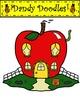 The Boss of Applesauce Clip Art by Dandy Doodles