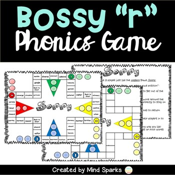 The Bossy R Game--er,ir, ur and ar