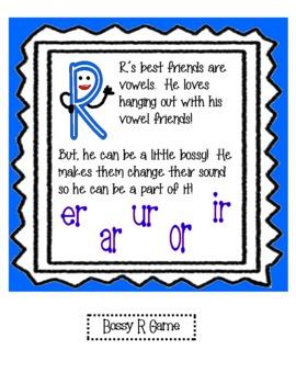 "The ""Bossy R"" : Vowel Friend"